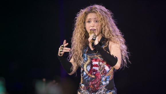 ¿Shakira está embarazada? Esta fue la respuesta de la cantante al ser consultada sobre el tema. (AFP)