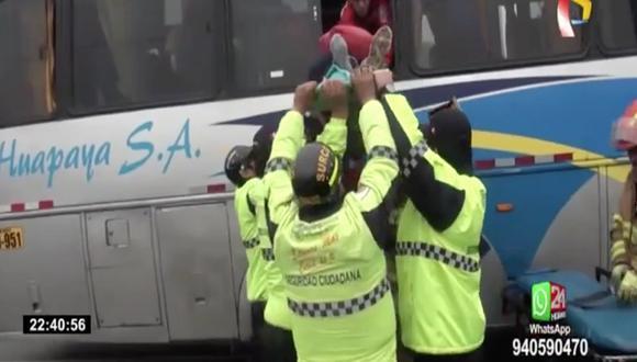 Cámaras de seguridad captaron accidente. (Captura Panamericana)