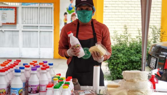 Feria Renacer Alimentario. Fuente: Municipalidad de Lima