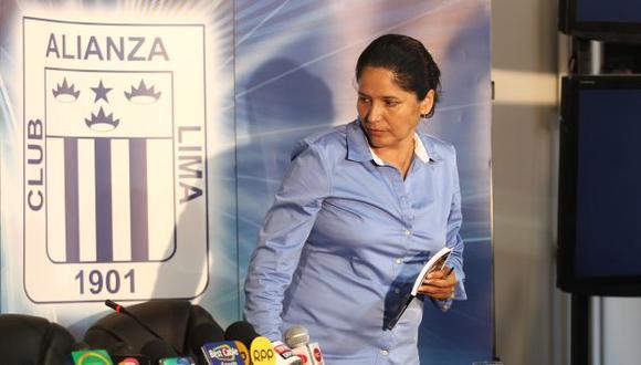 Susana Cuba tendrá la última palabra en la elección del técnico de Alianza Lima. (Depor)
