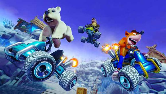 Crash Team Racing: Nitro-Fueled llegará el próximo 21 de junio a PS4, Xbox One, Nintendo Switch y PC.
