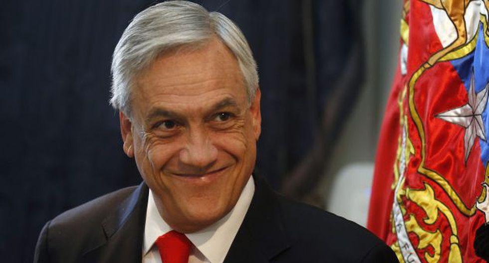 Sebastián Piñera sube en aprobación a 45% (EFE)