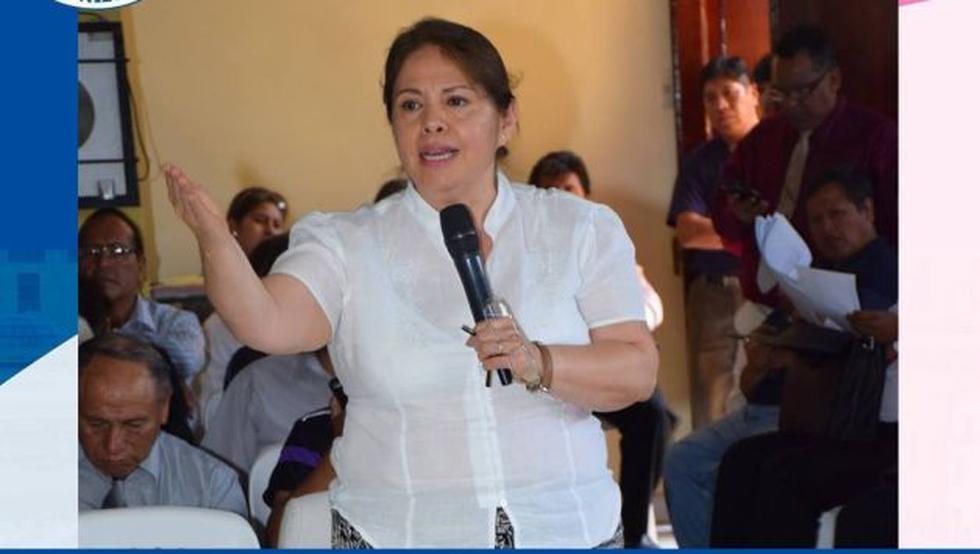 Beatriz Mejía dijo que están evaluando diversos mecanismos para eliminar el enfoque de género del currículo. (USI)