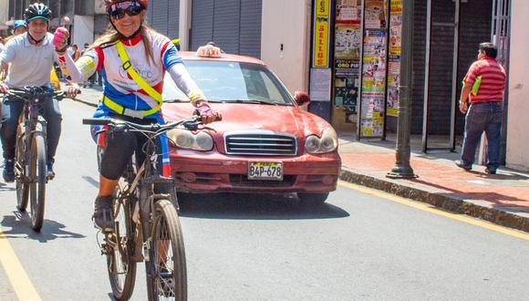 Conversamos con Jenny Samanez, subgerenta de Transporte no motorizado de la Municipalidad de Lima.