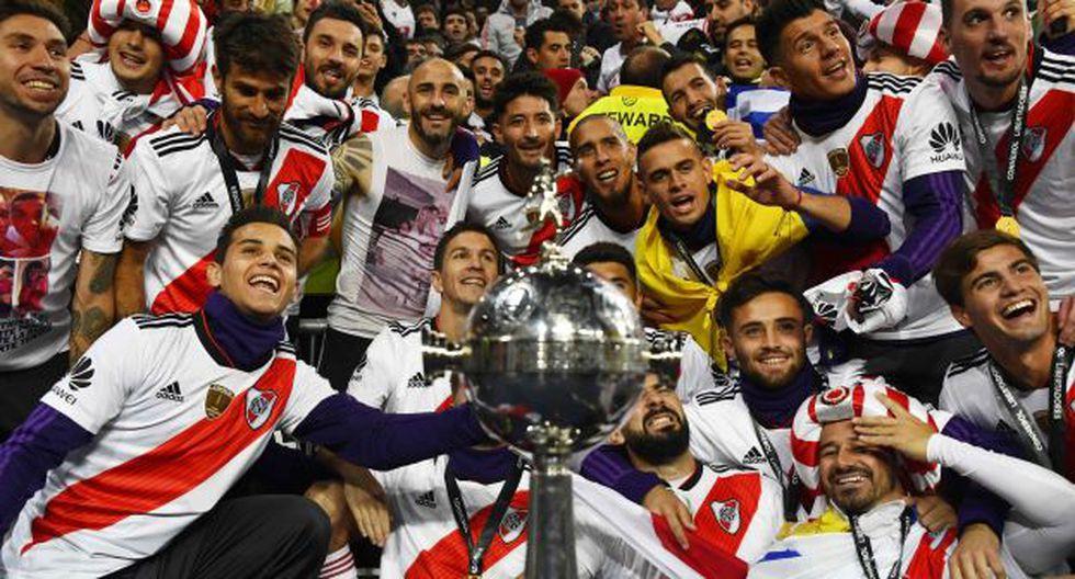 River Plate alcanzó su cuarto título de la Copa Libertadores en su historia. (Foto: AFP)