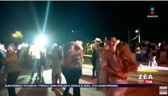Una masiva fiesta de quince años con casi 800 invitados se realizó el último fin de semana en Aguascalientes. (Excélsior)
