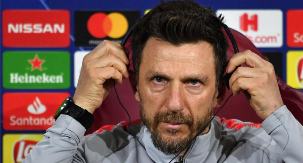 Eusebio Di Francesco ya no es más el entrenador de la Roma. La eliminación de Champions League le costó el puesto. (Foto: AFP)