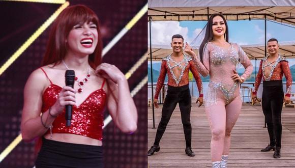 """La Uchulú llegó a la final de """"El artista del año"""" y competirá con otros artistas por la ansiada copa. (Foto: @egselartistadelaño/@gm.explosion)"""