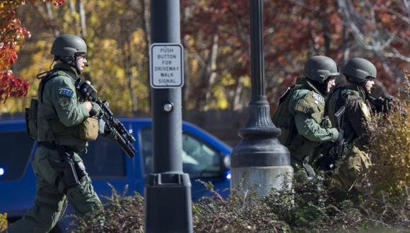 Reportaron a cuatro heridos. (AP)