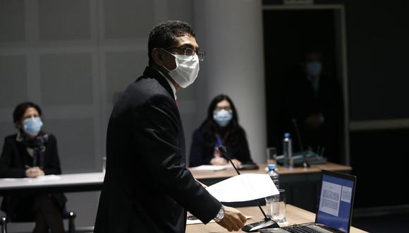 El juez supremo Martín Hurtado fue suspendido de sus funciones por la JNJ. (Francisco Neyra/GEC)