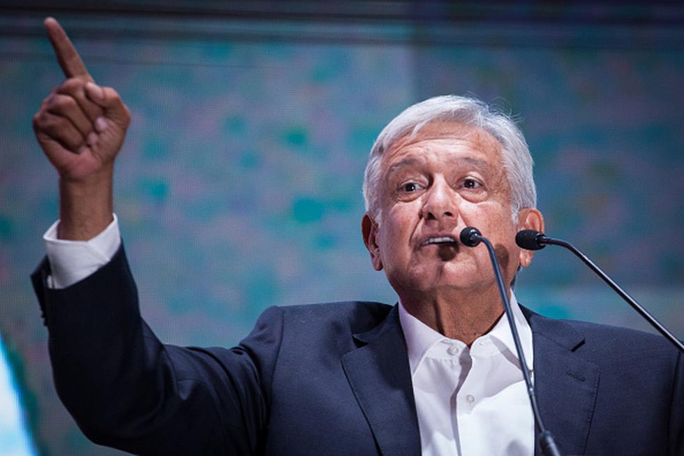 """Presidente electo de México tras rechazar protección de escoltas: """"Me cuida el pueblo"""". (Getty)"""