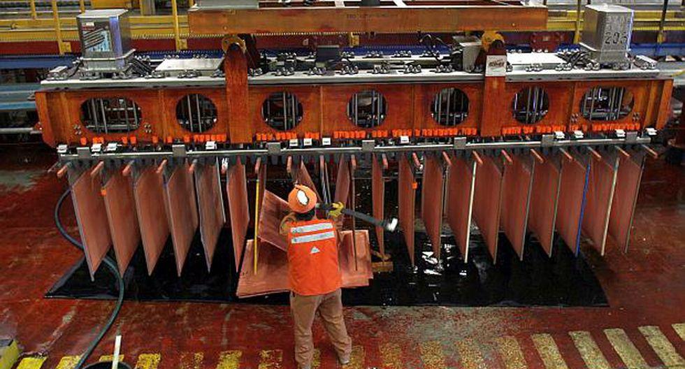 Se estaban desvaneciendo las expectativas de que un potencial pacto comercial entre EE.UU. y China elevarían los precios del cobre, según analistas. (Foto: Reuters)