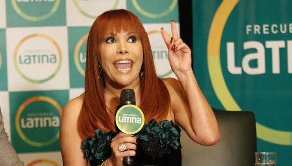 Magaly Medina siente miedo y temor por estrenar programa con público. (Perú21)