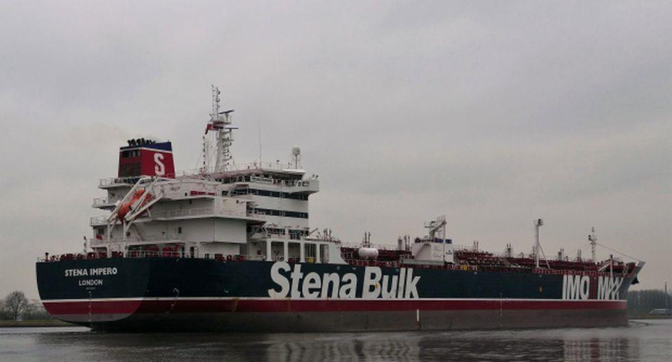 Stena Bulk ha emitido una declaración en la que el barco registrado en el Reino Unido, Stena Impero, fue abordado por pequeñas embarcaciones no identificadas y un helicóptero durante el tránsito del Estrecho de Ormuz. (Foto: AFP)