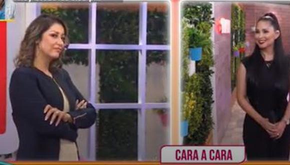 Karla Tarazona y Pamela Franco se juntaron y negaron tener mala relación.