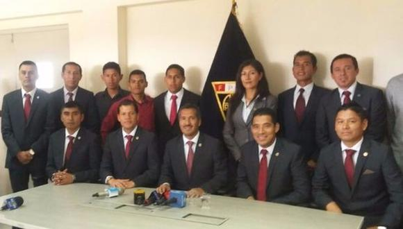 Los árbitros peruanos solicitan garantías ante la violencia en los partidos de fútbol.