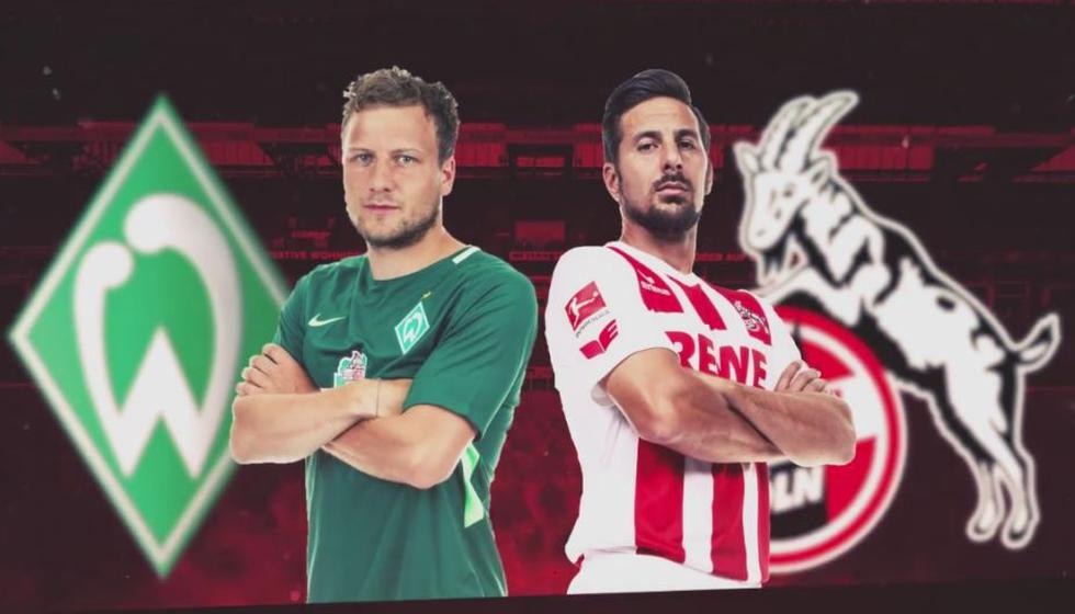 Werder Bremen vs. Colonia VER EN VIVO ONLINE EN DIRECTO FOX SPORTS 2 : Con Pizarro por la Bundesliga