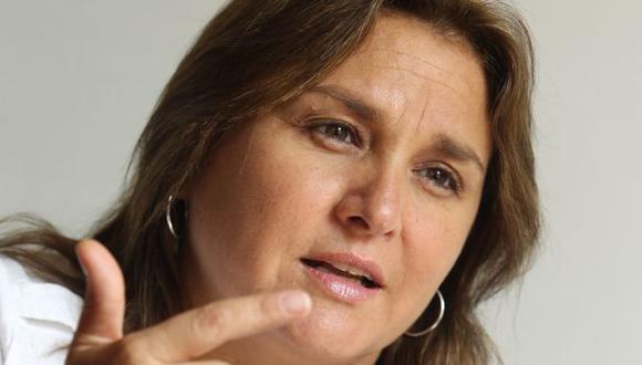 La congresista del PPC Marisol Pérez Tello consideró que la única virtud de Solórzano es ser amiga de la primera dama. (USI)