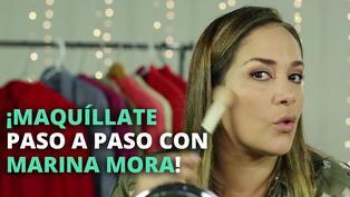 Paso a paso para maquillarte con Marina Mora