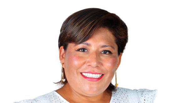 Natalie Condori postula al Parlamento en la iista de Alianza para el Progreso. (Foto: Difusión)