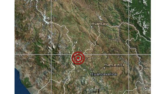 Un sismo de magnitud 4,0 se registró en Junín la noche de este martes a las 19:04 horas, según el IGP. (Foto: IGP)