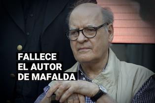 A los 88 años, falleció el dibujante argentino Quino, creador de Mafalda