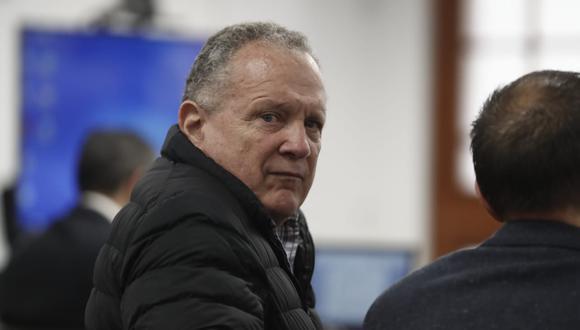 Richard Concepción Carhuancho se pronuncia sobre el pedido de 36 meses de prisión preventiva contra Vicente Silva Checa. (Renzo Salazar/Perú21)