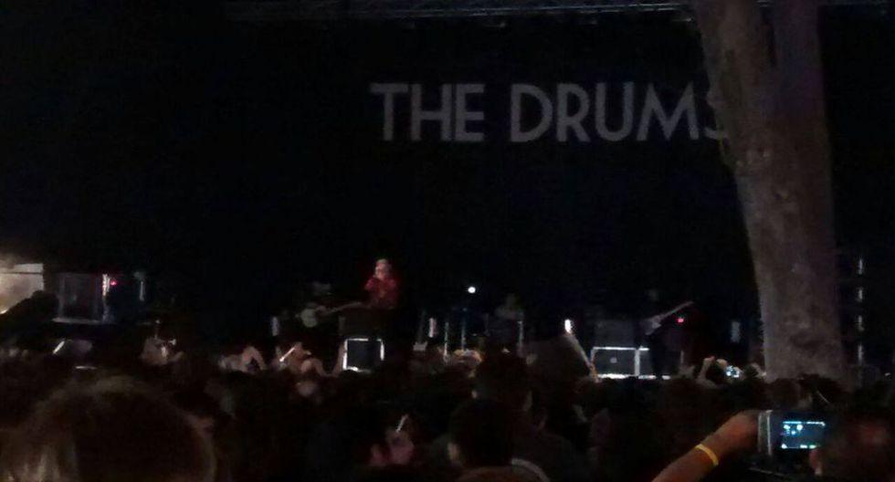 La banda estadounidense The Drums fue uno de los teloneros del concierto de MGMT en Lima. (Carolina Moreno)