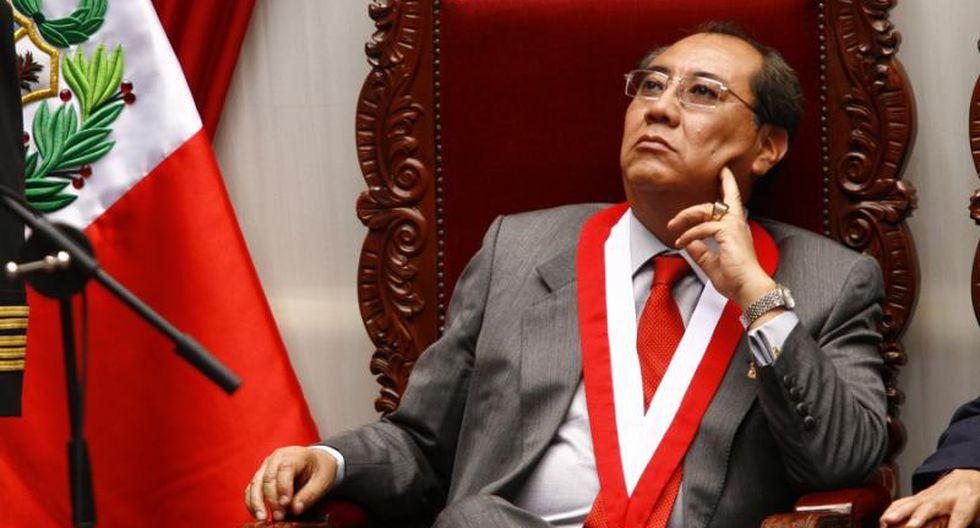 Fernando Calle señaló que el TC en lugar de revocar la prisión preventiva, debió anular el fallo del juez Richard Concepción Carhuancho. (Foto: GEC)
