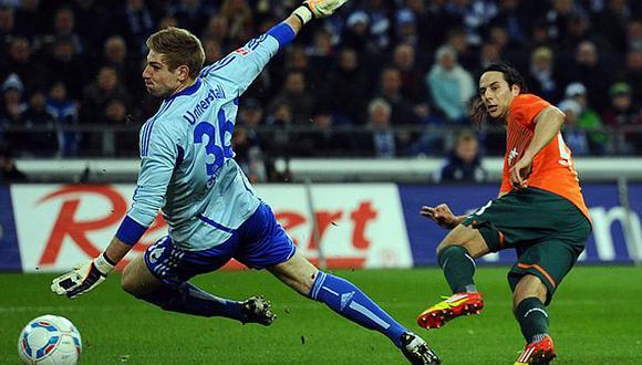 Pizarro anotó un doblete, pero no pudo salvar al Bremen. (werder.de)