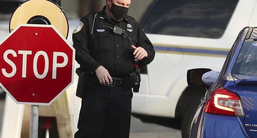 Imagen referencial de la policía en Florida, Estados Unidos. (Stephen M. Dowell/Orlando Sentinel/AP).