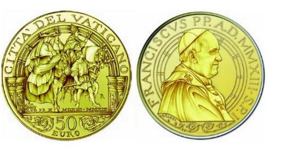 Las monedas del Vaticano, que circulan en toda la zona euro, suelen ser apreciadas por los coleccionistas