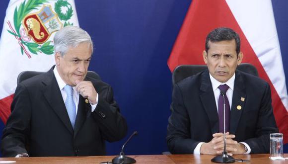 Se especula que Sebastián Píñera y Ollanta Humala dialogarían después de conocerse el fallo. (Perú21)