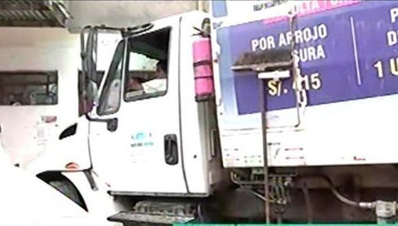 Afortunadamente, no hay víctimas mortales. (Foto: Captura/Latina)