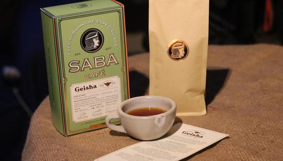 Café Saba presentó su edición exclusiva de geisha. (Ruta del Café Peruano)