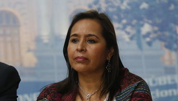 Nidia Vílchez también señaló que Luis Nava tendrá que responder por lo que Barata ha declarado en los interrogatorios en Brasil. (Foto: GEC)