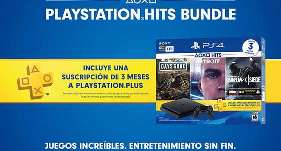 El nuevo paquete de PlayStation estará disponible desde el próximo 28 de mayo con tres grandes títulos y una consola de 1 Terabyte.