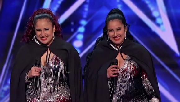"""America's Got Talent"": Gemelas Ramos pasan a fase de audiciones en vivo. (Fotos: America's Got Talent en Facebook)"