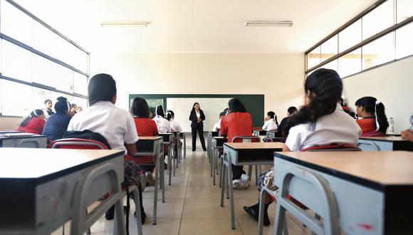 Los profesores se verán beneficiados con un nuevo aumento. (GEC)