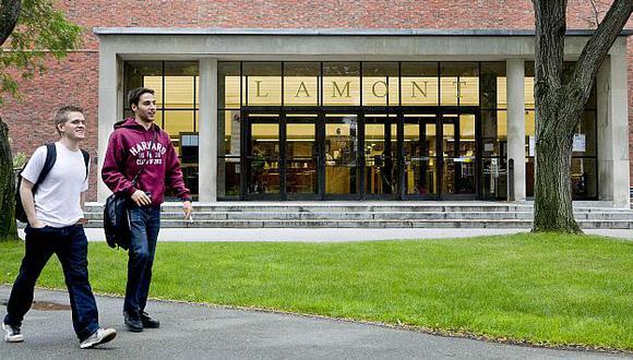 Universidad de Harvard recibió la donación más importante de su historia. (Bloomberg)
