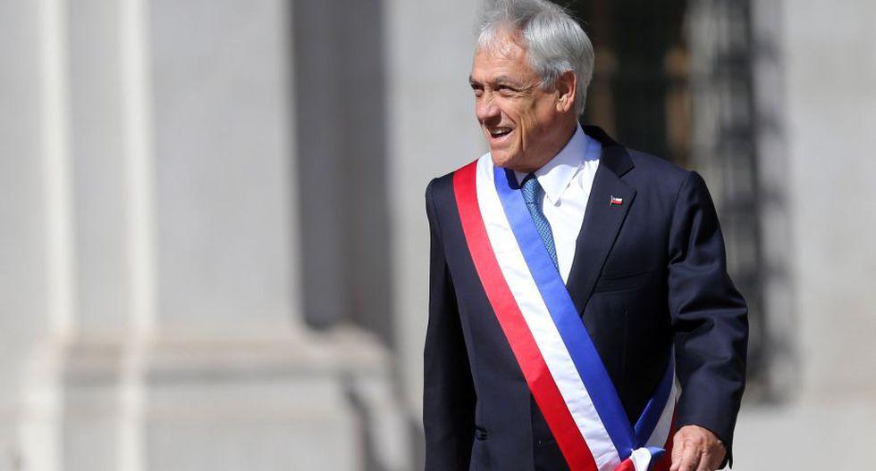 Piñera (Chile) mantiene un 55% de aprobación. (EFE)