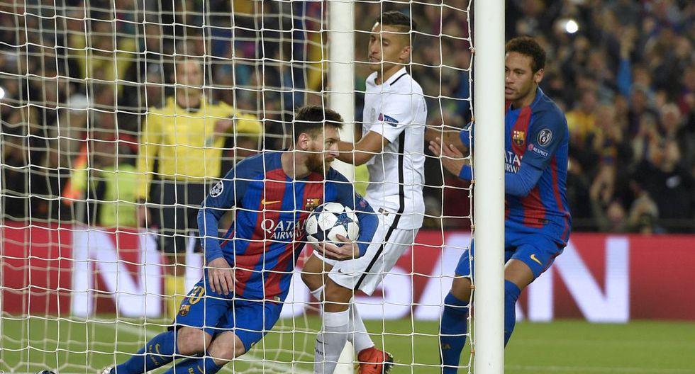 Lionel Messi y Neymar, lideraron la remontada histórica ante PSG. (Foto: AFP)