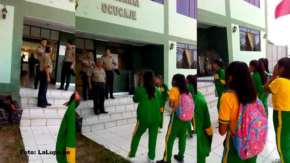 El Ministerio de Educación señaló que en los colegios públicos no es obligatorio el uso de uniforme escolar. (Twitter:@Defensoria_Peru)