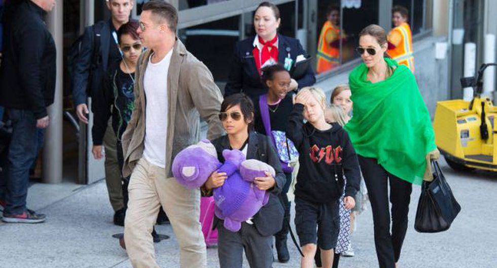 Brad Pitt se reencuentra con sus hijos tras separación con Angelina Jolie. (Vanguardia)