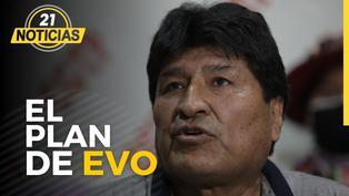 El plan de Evo Morales