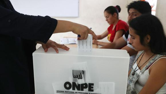 La ONPE designó a 518.928 miembros de mesa. Asimismo, informó que un total de 25.287.954 ciudadanos peruanos están habilitados para votar (Foto: Andina)