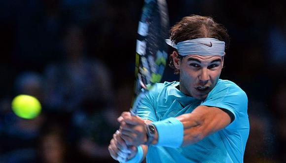 Rafael Nadal derrotó a David Ferrer. (AFP)