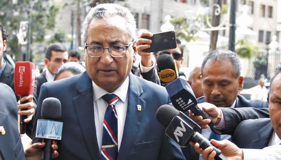 El titular de la Corte Suprema, José Luis Lecaros, es investigado (GEC).