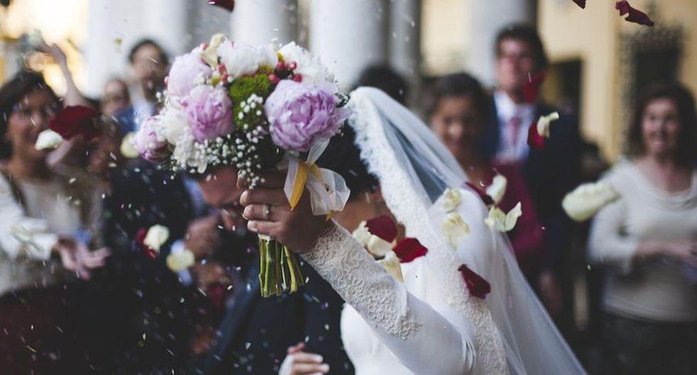 La pareja no consiguió más damas de honor porque no tenían mucho invitados. (Foto: Pixabay)