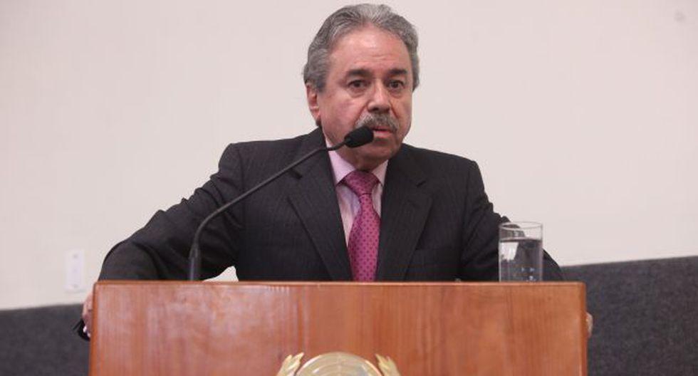 Rojas destacó que la alta votación que alcanzó el tema ha demostrado la solidez del planteamiento. (Andina)